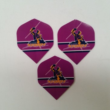 NRL Licensed DART FLIGHTS x 3 - Melbourne STORM