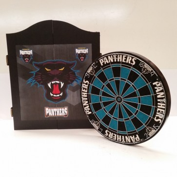 NRL Licensed DARTBOARD PACK - Penrith PANTHERS