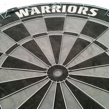 NRL Licensed DARTBOARD - New Zealand WARRIORS