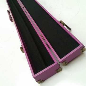 Box Cue case 2 Piece Vinyl Bright Purple
