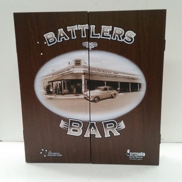 Dartboard CABINET - BATTLERS BAR