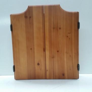 Solid Pine Dartboard Cabinet