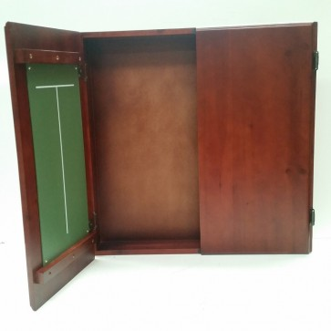 Club Size Dartboard CABINET - Brown