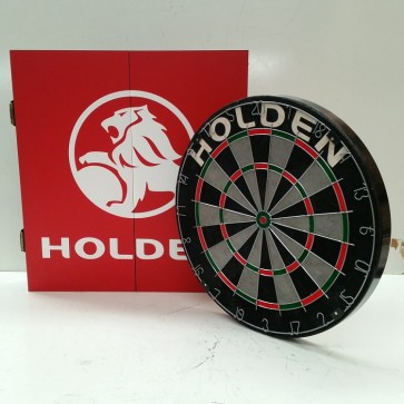 Official Licensed Holden - Dartboard and Cabinet Set