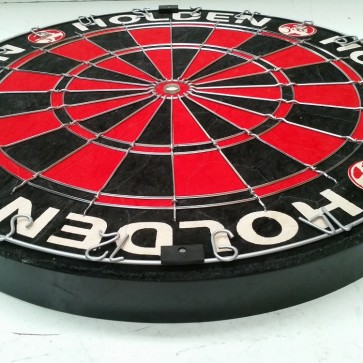 Official Licensed Holden Bristle DARTBOARD with 3 DARTS