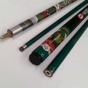 """Illusion"" 2 Pce GRAPHITE Pool Snooker Billiards 57"" CUE - Gambler"