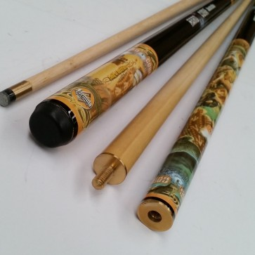 """Hard Core"" MAPLE 2 Pce Pool Snooker Billiards 57"" CUE - Australia"