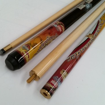 """Hard Core"" MAPLE 2 Pce Pool Snooker Billiards 57"" CUE - Queensland"