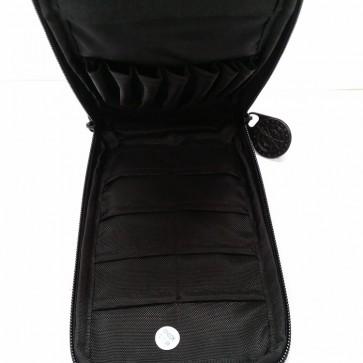 DARTS CASE with Zip and Belt Clip - Black