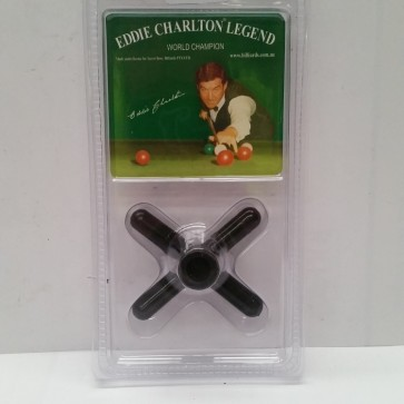 Eddie Charlton Pool Snooker Billiards CROSS REST - BLACK Plastic