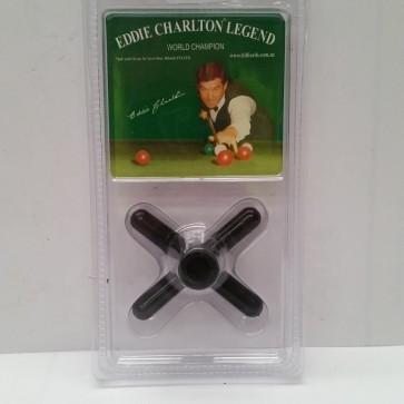 Eddie Charlton Pool Snooker Billiards CROSS REST - BLACK Plastic
