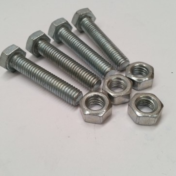 Set of Four Fixing TABLE FOOT Bolt And Nut
