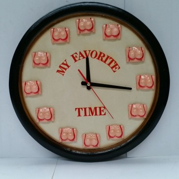 My Favourite Time Pool Room WALL CLOCK