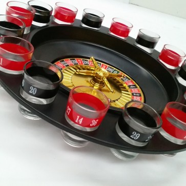Roulette - Glass Shot Drinking Game