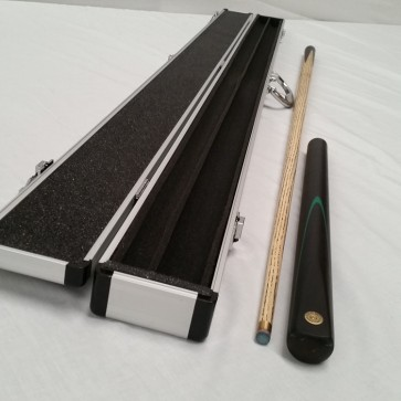"Barracuda Gold Medal MACHINE SPLICED 3/4 Pool Snooker Billiards CUE 57"" + 3/4 Cue Case"