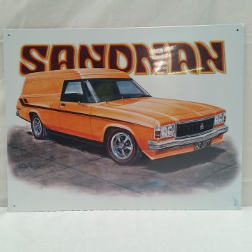 Australian Cars & Transport - Holden 1977 HZ Sandman - Tin Sign