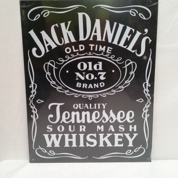 Jack Daniels Black Label Tin Sign