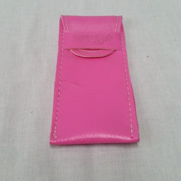 Leatherette Tuck-in DARTS WALLET - Pink