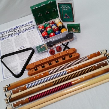Eddie Charlton Billiards Accessory Kit Small