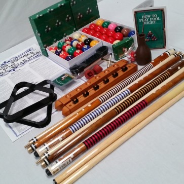 Eddie Charlton Billiards Accessory Kit (Large)