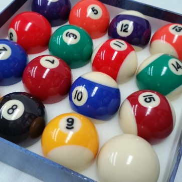 Standard KELLY POOL BALL Set 2""