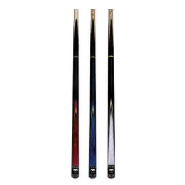 "Premium Ash/Rosewood CUE 57"" - Pool Snooker Billiards - 2 Piece - Red"