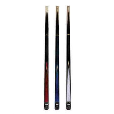 "Premium Ash/Rosewood CUE 57"" - Pool Snooker Billiards - 2 Piece - Blue"