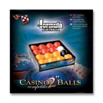 """Premium CASINO POOL BALLS 2"""""""