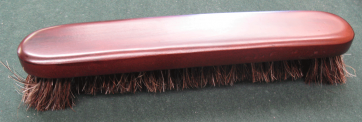 12 inch Deluxe Brown Horse Hair Snooker Pool Table Bristle Brush
