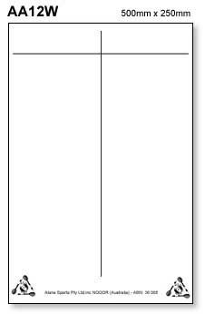 Self Adhesive WHITEBOARD Dart Scoreboard Sheet