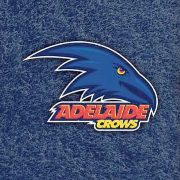 AFL Licensed Pool Snooker Billiards CLOTH 7 Foot - Adelaide CROWS