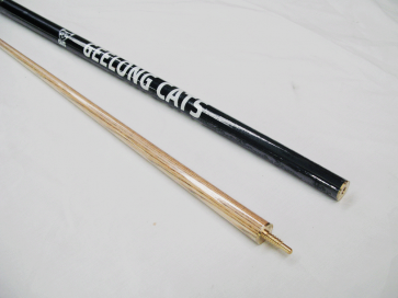 """AFL Licensed Pool Snooker Billiards CUE - 2pce 57"""" - Geelong CATS"""