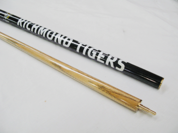 "AFL Licensed Pool Snooker Billiards CUE - 2pce 57"" - Richmond TIGERS"