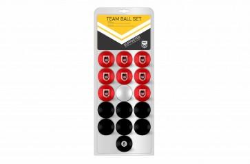 NRL Licensed POOL BALLS - 16 Pack - St George Illawarra DRAGONS