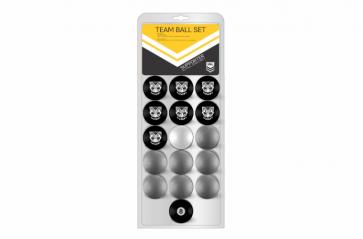 NRL Licensed POOL BALLS - 16 Pack - New Zealand WARRIORS