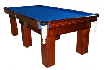 Charlton Pro Slate Square leg Pool Table Blue 8F