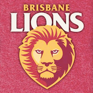 AFL Licensed Pool Snooker Billiards CLOTH 9 Foot - Brisbane LIONS