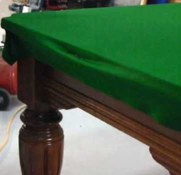 Re Cloth Pool Snooker Billiards Table - 9 Foot