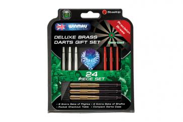 Winmau Gift Pack Brass Darts Set 22gm