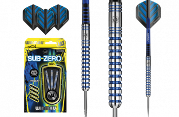 WINMAU Sub Zero 80% Tungsten DARTS Set of 3 - 26gm