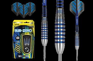 WINMAU Sub Zero 80% Tungsten DARTS Set of 3 - 24gm