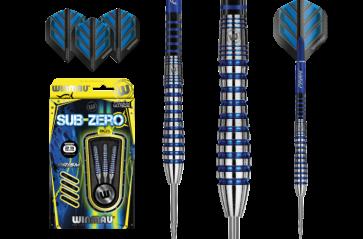 WINMAU Sub Zero 80% Tungsten DARTS Set of 3 - 23gm