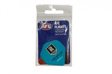 AFL Licensed DART FLIGHTS x 3 - Port Adelaide POWER