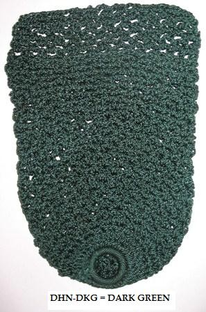 Deluxe Heavy NET POCKET Set - 6 Pce - DARK GREEN