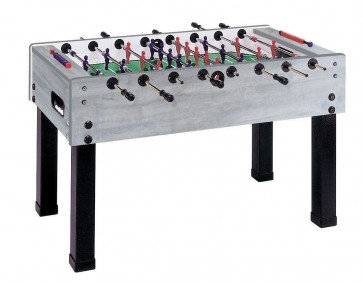 Garlando G500 Soccer FOOSBALL Table Grey Oak