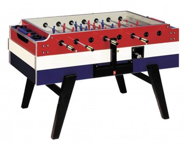 Garlando Coperto Competition Coin Operated Soccer FOOSBALL Table