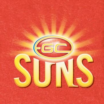 AFL Licensed Pool Snooker Billiards CLOTH 8 Foot - Gold Coast SUNS
