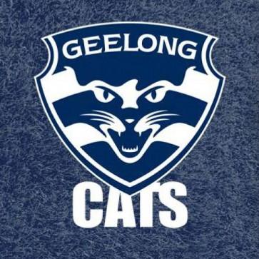 AFL Licensed Pool Snooker Billiards CLOTH 7 Foot - Geelong CATS