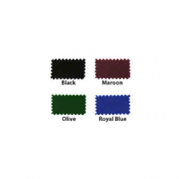 HAINSWORTH English Pool Snooker Billiards CLOTH - 12 Ft by Colour