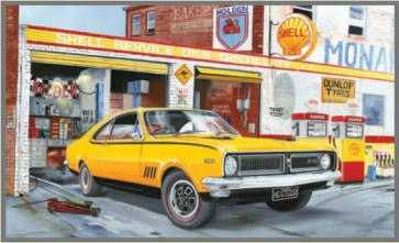 Australian Cars & Transport Holden HG 350 Monaro Tin Sign